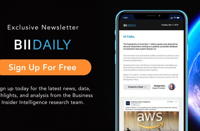 Get the latest news, data, highlights, and analysis from the Business Insider Intelligence research team – FREE