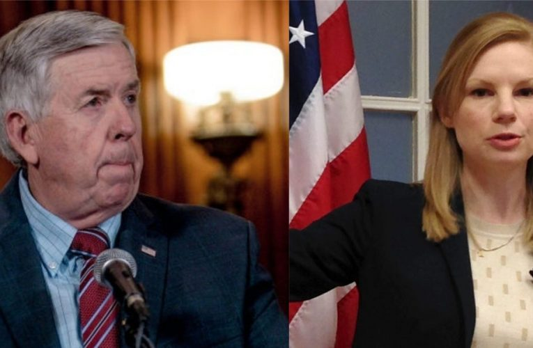 Live results of Missouri's governor race between Mike Parson and Nicole Galloway