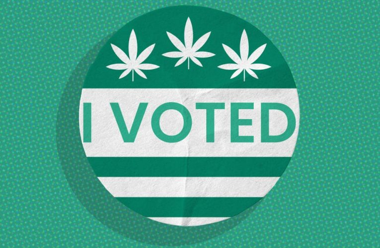 New Jersey voting results on legalizing marijuana