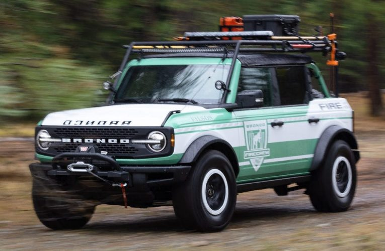 How Ford and outdoor retailer Filson teamed up to design a firefighting version of the ultra-popular Bronco