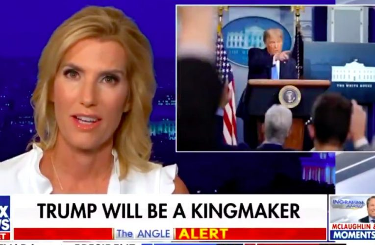Fox News host Laura Ingraham advises Trump to accept defeat with 'grace and composure' in unusual messaging shift