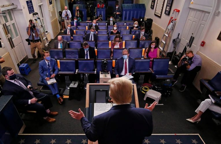 Trump waged a 4-year war against the press. Here's what 5 White House briefing room insiders want from the Biden era.