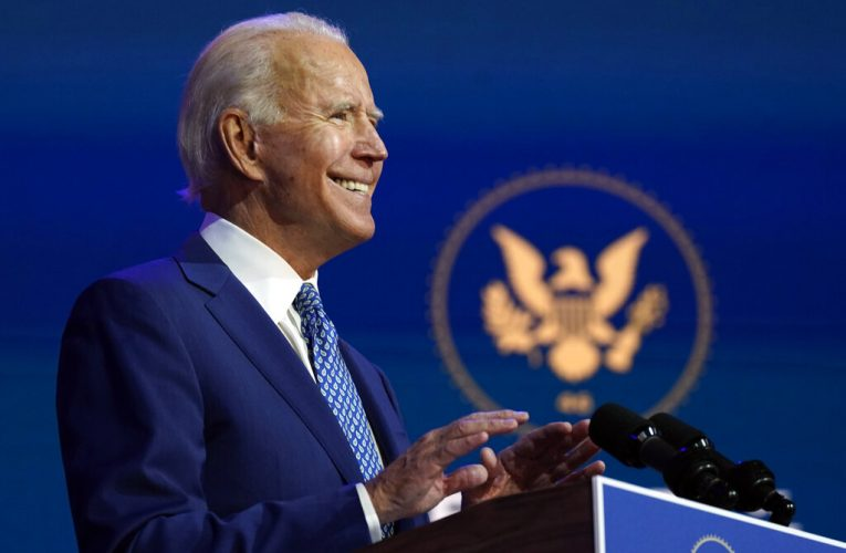 Biden says he's telling foreign leaders it's 'not America alone' anymore