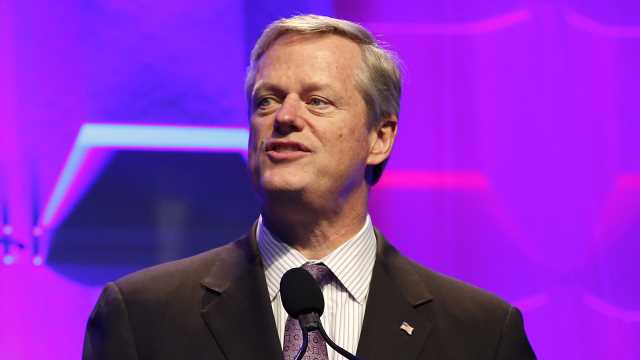 Massachusetts' Republican Gov. reveals he left presidential ballot blank
