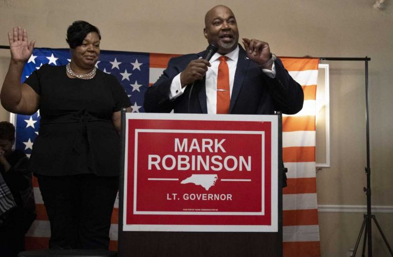 Republican Mark Robinson on historic lieutenant governor win: 'This party is open to everybody'