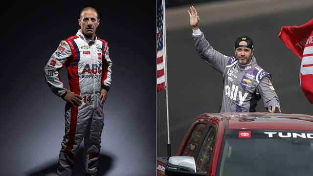 Indycar great Tony Kanaan, Jimmie Johnson to share car