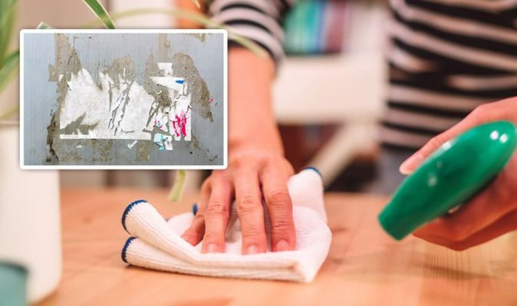 Cleaning: Mrs Hinch fans share bizarre food hack for removing stickers from hard surfaces