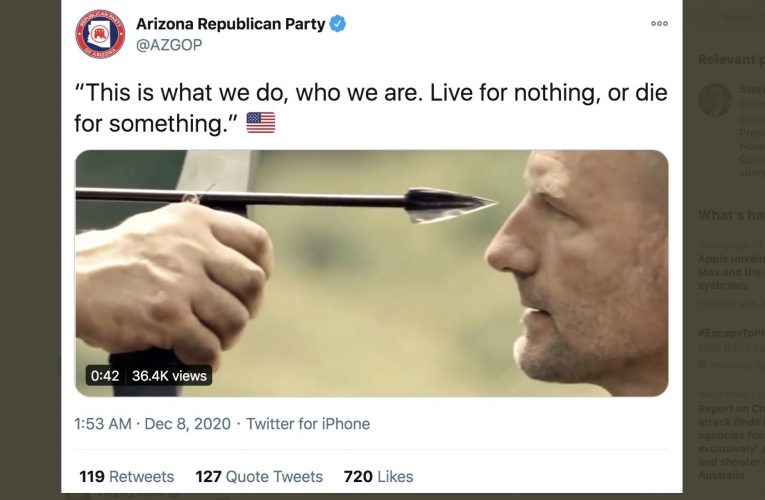 Arizona GOP Asks If Supporters Willing To Die For Trump's Election Fraud Lies