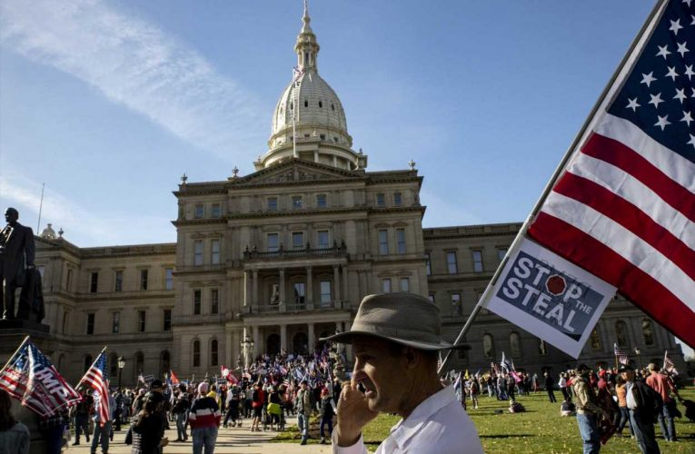 Michigan GOP lawmaker loses committee posts after not ruling out violence during Electoral College vote