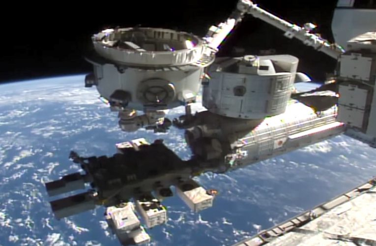 Space holding company Voyager to acquire Nanoracks, which added an airlock to the space station