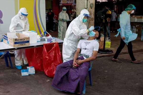 Thailand Reports Record Virus Cases as It Locks Down Province
