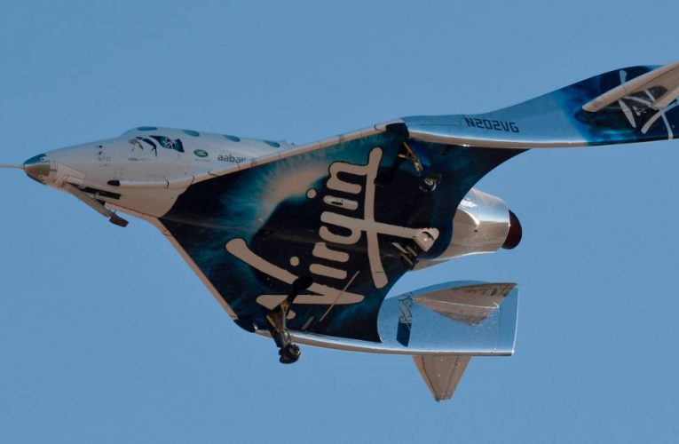 Go inside Virgin Galactic's spaceship for tourists