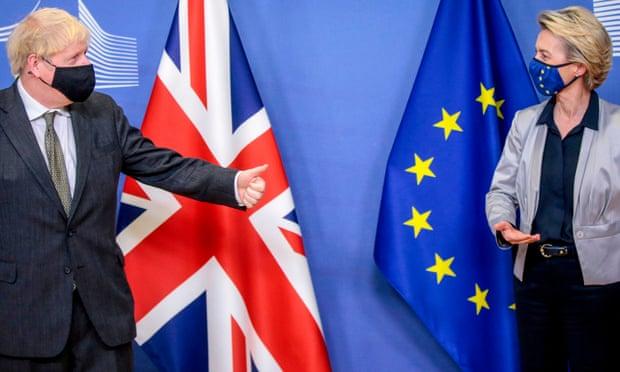 Worst UK economic slump for 300 years not a good platform for Brexit talks