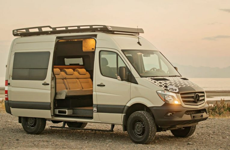 This Mercedes-Benz Sprinter camper van conversion that can sleep 6 skyrocketed in popularity amid the pandemic — see inside the $68,900 Doc Holiday