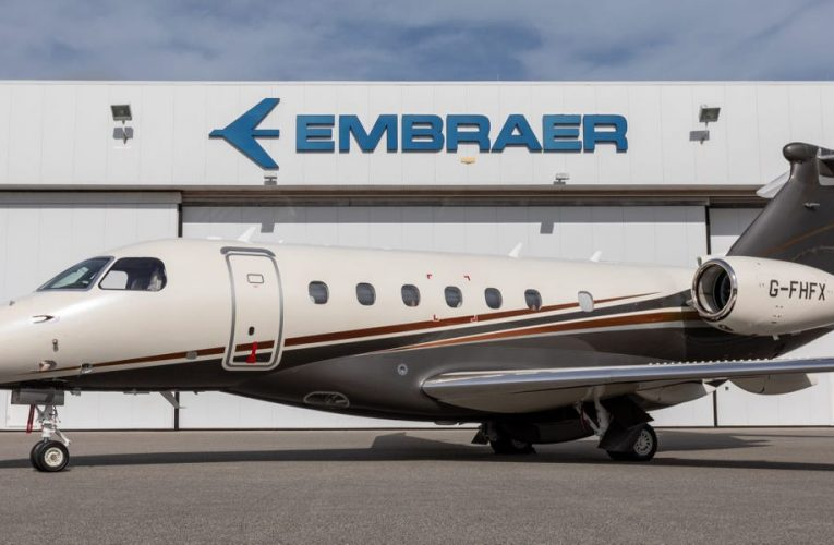 Embraer's brand-new $21 million private jet that can fly non-stop from New York to London just entered service with Flexjets as its first operator