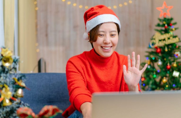 No, you don't have to go to your company's virtual holiday party