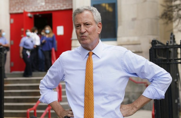 De Blasio 'really unhappy' with coronavirus relief package due to lack of state and local aid