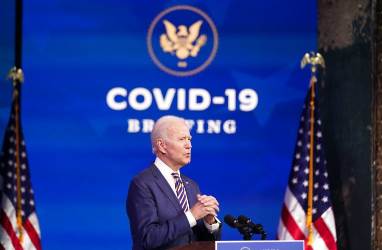 Biden says Trump administration's plan to distribute vaccines falling 'far behind'