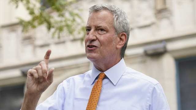 De Blasio says Trump administration played 'valuable role' in getting COVID-19 vaccine quickly