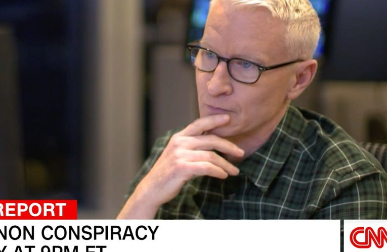 Anderson Cooper Interviews Ex-QAnon Follower Who Believed CNN Anchor Ate Babies