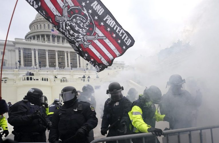 National Guard Called To U.S. Capitol As Police Clash With Donald Trump Supporters Who Stormed Building; One Reported Shot