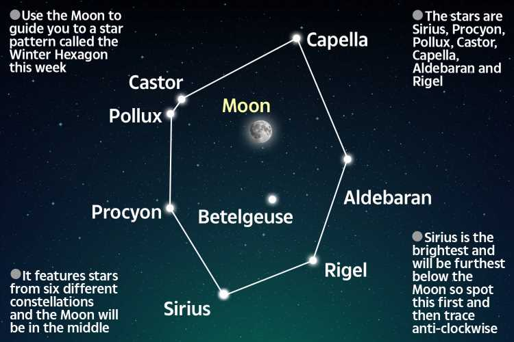 Winter Hexagon: How to see rare space event where SIX constellations combine in the sky this week
