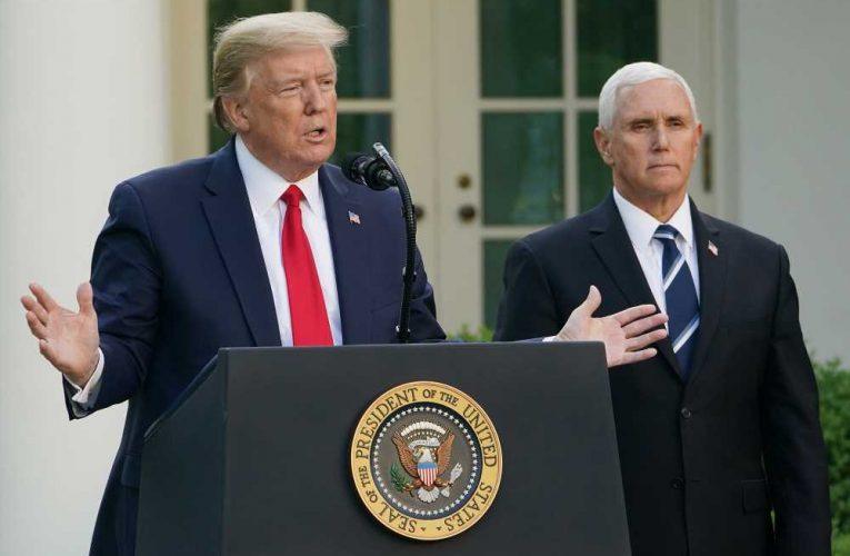 Trump Pressures Pence to 'Come Through' in Long-Shot Effort to Overturn 2020 Election Result