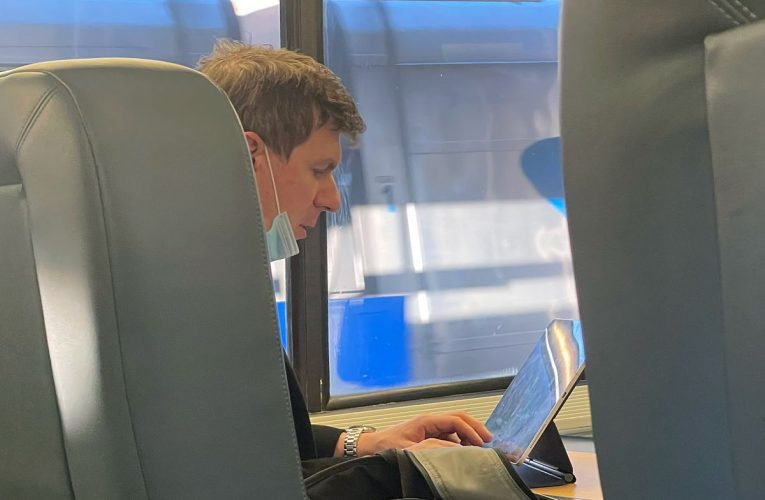 Project Veritas Leader Overheard on Amtrak Talking Strategy