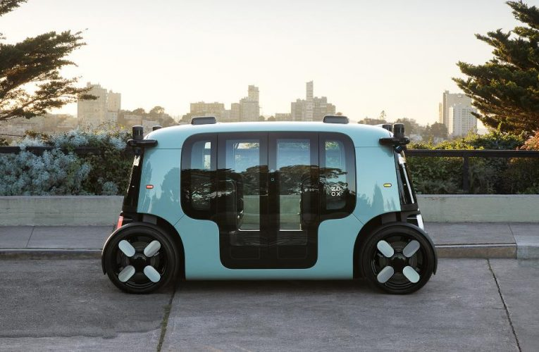 This robotaxi from Amazon's Zoox has no reverse function