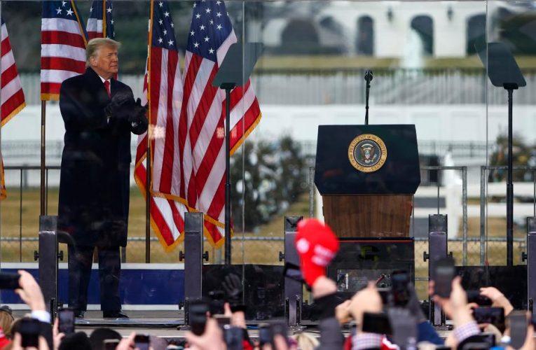 Facebook blocks Trump through end of presidency