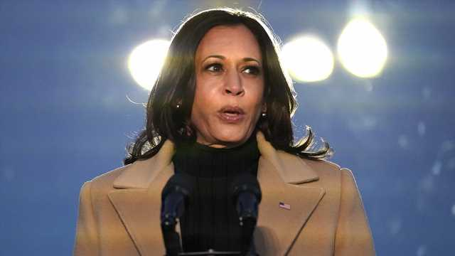 Kamala Harris takes historic oath, becomes nation's first female, Black vice president