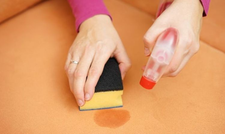 Cleaning: How to tackle visible sofa stains in four simple steps