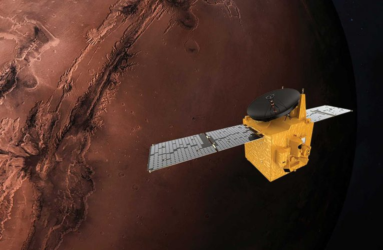 UAE Hope spacecraft to 'win 2021 space race' against US and China with arrival at Mars tomorrow