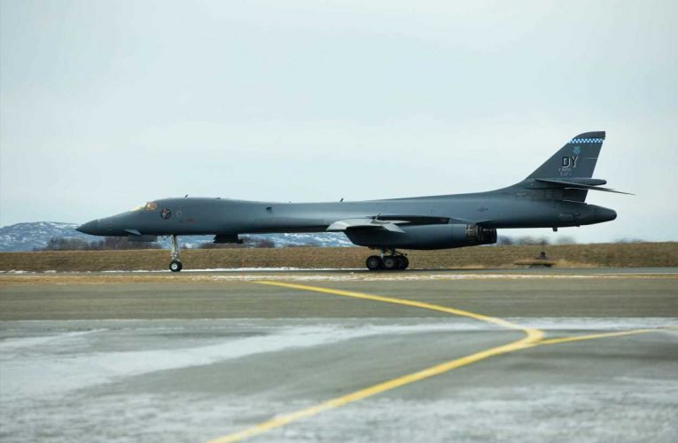 US B-1 bombers arrive in Norway for historic visit that seems to send message to Moscow