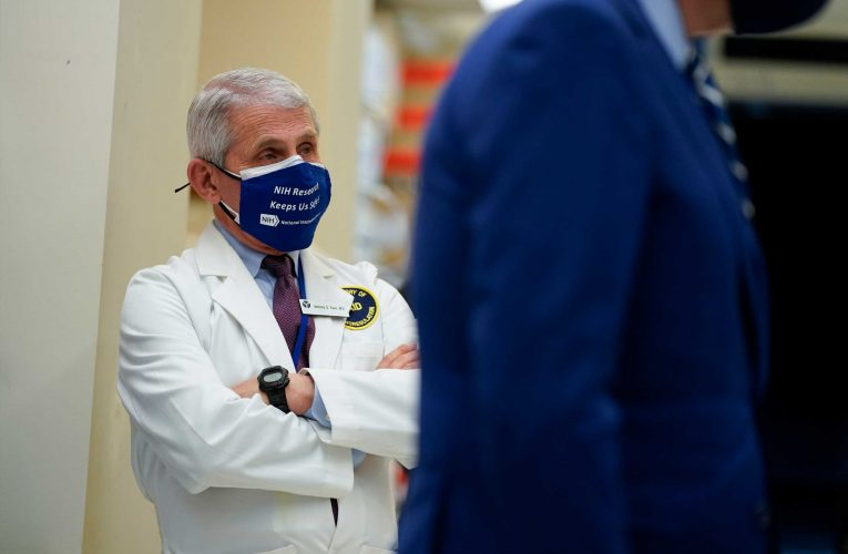 Dr. Fauci: It's 'possible' Americans may still be wearing face masks in 2022