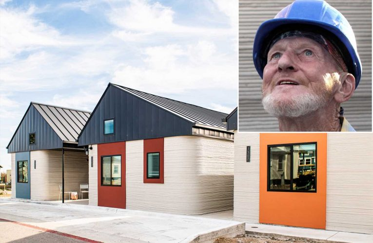 Homeless man becomes first person to live in 3D-printed house