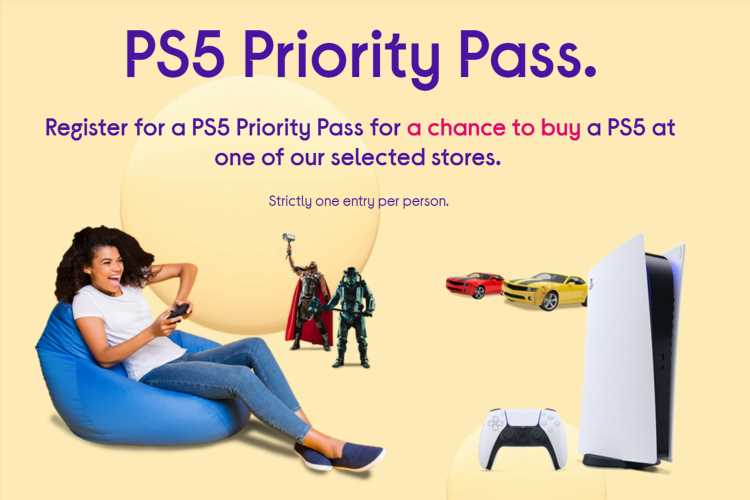 Currys to release PS5 stock through new 'priority pass' lottery system