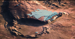 Stunning video shows what Elon Musk's first city on MARS will probably look like – and it's incredible