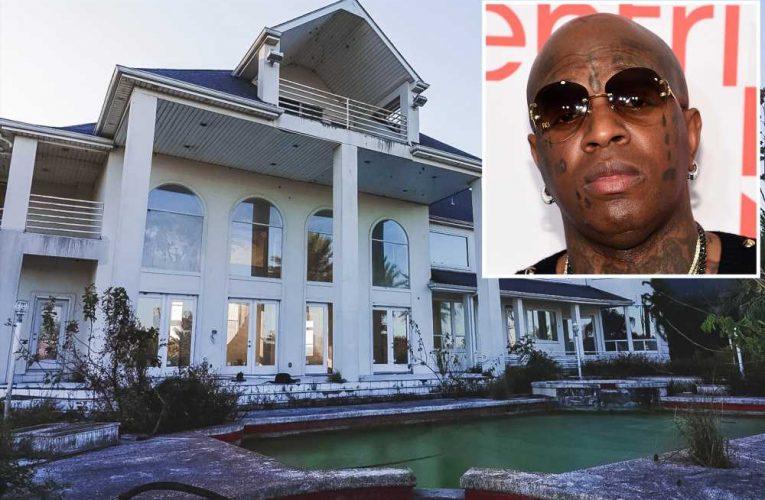 Inside Birdman's eerie New Orleans mansion he abandoned after Katrina