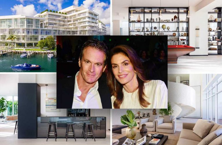 Cindy Crawford and Rande Gerber nab swanky Miami penthouse for $2.3M
