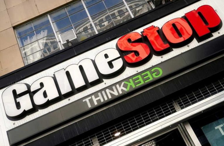 GameStop stock tumbles after wild six-day rally