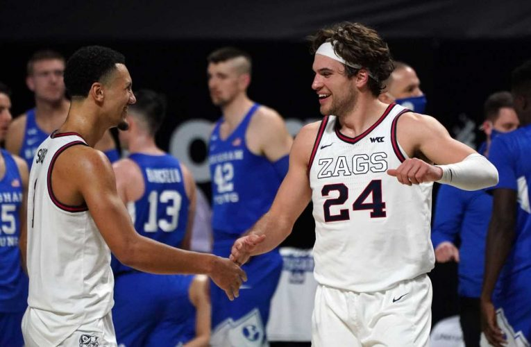 NCAA Tournament bracketology: Will top overall seed Gonzaga go undefeated through March Madness?