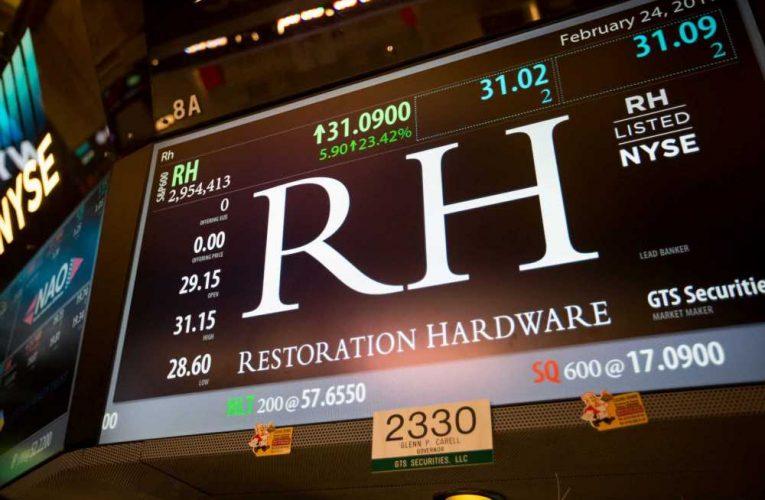 Trader makes a huge bet on a Restoration Hardware earnings breakout