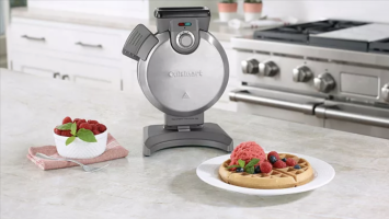 Our favorite Cuisinart vertical waffle maker is on sale for a huge discount today