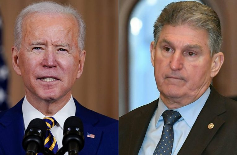 As Biden calls for gun ban, Manchin says he doesn't support background check legislation