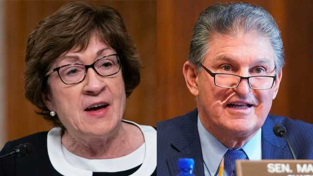Manchin, Collins to vote for Becerra as Biden's HHS secretary after conservatives try to sink nomination