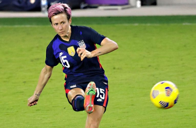 Soccer star Megan Rapinoe to testify before Congress Wednesday on gender pay gap