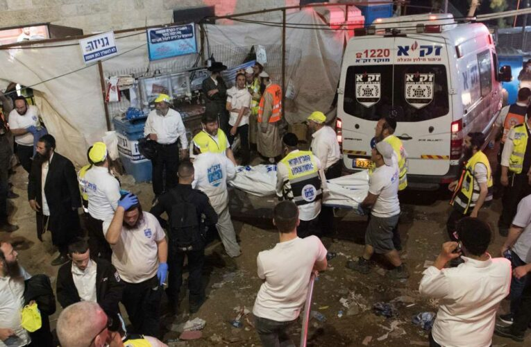 Dozens of deaths, injuries reported in stampede at religious gathering in Israel