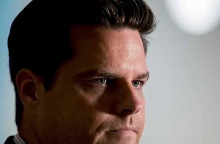 Gaetz joins Greene in announcing 'America First' tour amid congressman's sex trafficking scandal