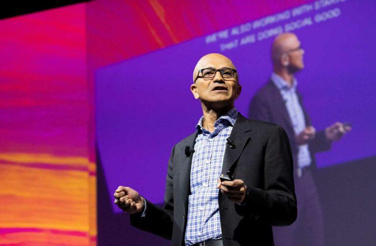 Microsoft books biggest revenue growth since 2018